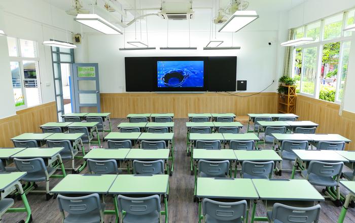 title='小学部教室'